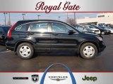 2009 Crystal Black Pearl Honda CR-V LX 4WD #46397114