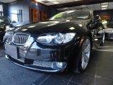 2007 Jet Black BMW 3 Series 335i Convertible #46397122