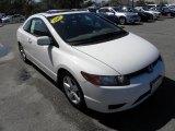 2007 Taffeta White Honda Civic EX Coupe #46397494