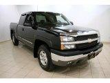 2004 Black Chevrolet Silverado 1500 LS Extended Cab 4x4 #46397685