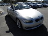 2008 Titanium Silver Metallic BMW 3 Series 335i Convertible #46397501