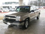 2005 Sandstone Metallic Chevrolet Silverado 1500 Z71 Crew Cab 4x4 #46397525