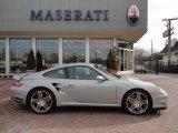 2008 GT Silver Metallic Porsche 911 Turbo Coupe #46454892
