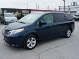 2011 South Pacific Blue Pearl Toyota Sienna LE #46455633