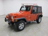 2006 Impact Orange Jeep Wrangler X 4x4 #46455239