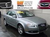 2008 Quartz Grey Metallic Audi A4 2.0T quattro S-Line Sedan #46455655