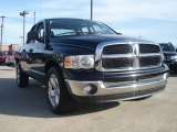 2004 Black Dodge Ram 1500 SLT Quad Cab #46455977