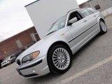 2003 Titanium Silver Metallic BMW 3 Series 325xi Wagon #46455521