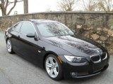 2008 Jet Black BMW 3 Series 335i Coupe #46455683