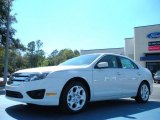2011 White Suede Ford Fusion SE #46455688