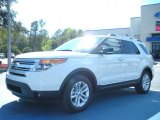 2011 White Suede Ford Explorer XLT #46455689