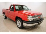 2005 Victory Red Chevrolet Silverado 1500 Regular Cab #46456026