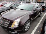 2009 Black Cherry Cadillac CTS 4 AWD Sedan #46456302