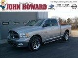 2011 Bright Silver Metallic Dodge Ram 1500 Big Horn Quad Cab 4x4 #46456066