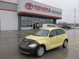 2007 Pastel Yellow Chrysler PT Cruiser Touring #46455742