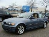 2003 Steel Blue Metallic BMW 3 Series 325i Sedan #46456308