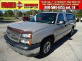 2004 Silver Birch Metallic Chevrolet Silverado 1500 Regular Cab #46456081