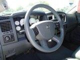 2007 Dodge Ram 1500 SLT Regular Cab 4x4 Steering Wheel