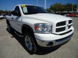 2007 Dodge Ram 1500 SLT Regular Cab 4x4 Front 3/4 View