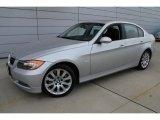 2008 Titanium Silver Metallic BMW 3 Series 335xi Sedan #46455593