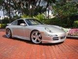 2007 Arctic Silver Metallic Porsche 911 Carrera 4 Coupe #46455921