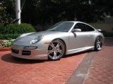 2007 Porsche 911 Carrera 4 Coupe Front 3/4 View