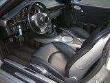 2007 Porsche 911 Carrera 4 Coupe Black Interior