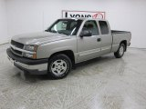 2003 Light Pewter Metallic Chevrolet Silverado 1500 LS Extended Cab #46499609