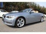 2009 Blue Water Metallic BMW 3 Series 335i Convertible #46500013