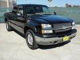 2003 Black Chevrolet Silverado 1500 Z71 Extended Cab 4x4 #46500168