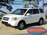 2007 Taffeta White Honda Pilot EX-L #46500534
