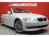 2011 Mineral White Metallic BMW 3 Series 335i Convertible #46500393
