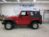 2011 Flame Red Jeep Wrangler Sport 4x4 #46500076