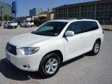 2010 Blizzard White Pearl Toyota Highlander SE #46499948