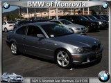 2004 Silver Grey Metallic BMW 3 Series 325i Coupe #46500205