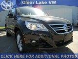 2011 Deep Black Metallic Volkswagen Tiguan SE #46500683
