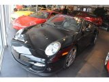 2008 Black Porsche 911 Turbo Cabriolet #46500452