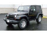 2011 Black Jeep Wrangler Rubicon 4x4 #46500695