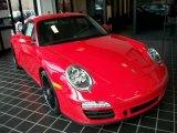 2011 Porsche 911 Guards Red