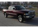 2001 Dark Garnet Red Pearl Dodge Ram 1500 SLT Club Cab 4x4 #46546198