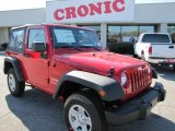2011 Flame Red Jeep Wrangler Sport 4x4 #46545741