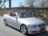 2007 Titanium Silver Metallic BMW 3 Series 335i Convertible #46545578