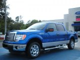 2011 Blue Flame Metallic Ford F150 XLT SuperCrew #46545581