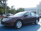 2011 Bordeaux Reserve Metallic Ford Fusion SE V6 #46545582