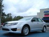2011 Ingot Silver Metallic Ford Fusion S #46545585