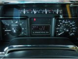 2011 Lincoln Navigator Limited Edition 4x4 Gauges