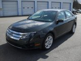 2010 Atlantis Green Metallic Ford Fusion SE #46546230
