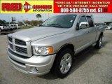 2005 Bright Silver Metallic Dodge Ram 1500 Laramie Quad Cab #46546248