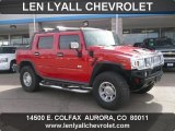 2005 Hummer H2 Victory Red