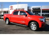 2008 Radiant Red Toyota Tundra Limited CrewMax 4x4 #46545401